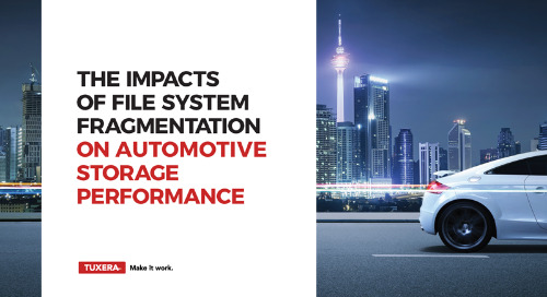The Impacts of File System Fragmentation on Automotive Storage Performance