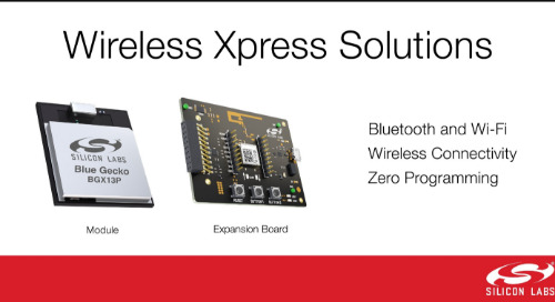 Silicon Labs' Wireless Xpress Modules Accelerate IoT Applications Connections