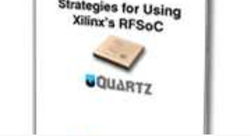 Strategies for Deploying Xilinx's Zynq UltraScale+ RFSoC