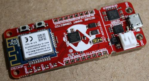 Microchip AC164160 Secure IoT Sensor Node