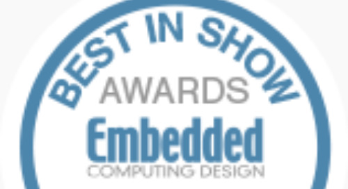 Embedded World 2019 Best in Show Award Nominees: Power Electronics