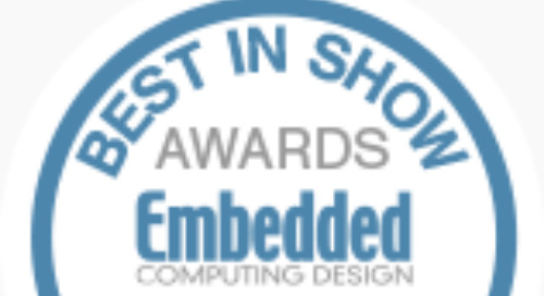 Embedded World 2019 Best in Show Award Nominees: Artificial Intelligence