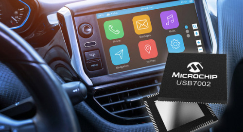 Microchip Releases First Automotive USB 3.1 SmartHub with Type-C Support