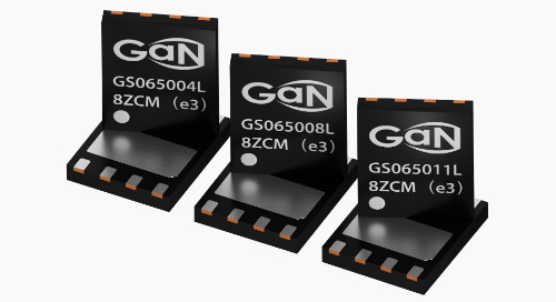 GaN Systems' Latest Power Transistors Target Consumer Apps