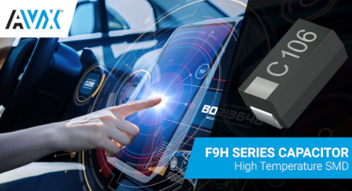 AVX's Latest Tantalum Capacitors Address Automotive and Industrial Apps