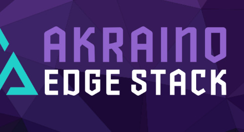 First Release of Akraino Edge Stack Defines Framework, Blueprints for IoT Edge Applications