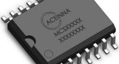 ACEINNA AMR Current Sensors Now Support 3.3V Apps