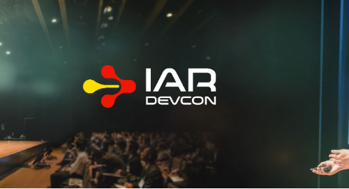 IAR Systems Releases Dates and Locations IAR DevCon 2019