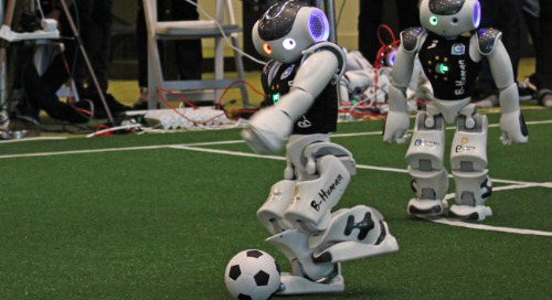 B-Human Wins RoboCup World Championship with Advances in Machine Vision & AI