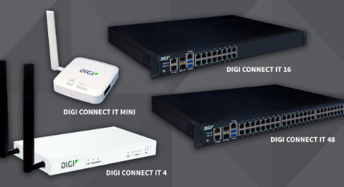 Digi International Releases Digi Connect IT Family of Console Access Servers