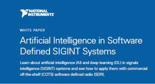 Artificial Intelligence in Software Defined SIGINT Systems