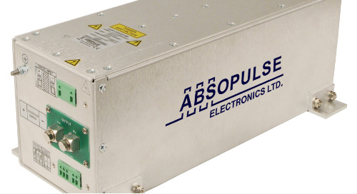 ABSOPULSE's Liquid-Cooled DC-DC Converter Delivers up to 2000W