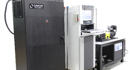 SAKOR TECHNOLOGIES ANNOUNCES DYNAMOMETER LINE FOR TESTING ELECTRIC MOTOR EFFICIENCY TO MEET INTERNATIONAL ENVIRONMENTAL STANDARDS