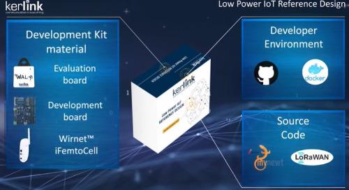 Kerlink Low-Power IoT RefDesign Included in Objenious's LoRaWAN Catalog