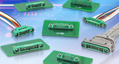 Harwin Claims Smallest & Most Lightweight Mixed-Layout Connectors to Date