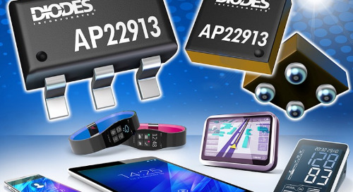 High-Side Load Switch from Diodes Inc Touts Reliability