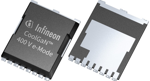 Infineon Expands its CoolGaN portfolio with 400 V 600 V Industrial-Grade Devices