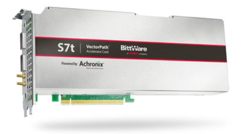 Achronix and BittWare launch VectorPath accelerator card with Speedster7t FPGAs