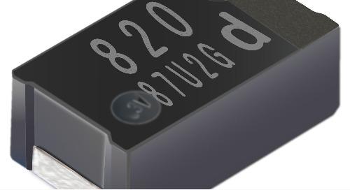 Panasonic's GY Series SP-Cap Capacitors Boast Low ESR Characteristics, High Capacitances