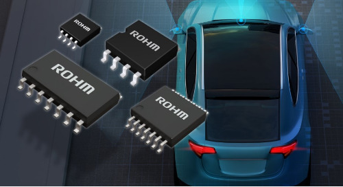 ROHM's Noise-Tolerant Comparators Serve Automotive Systems
