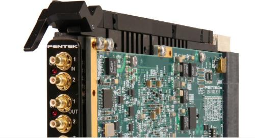 Pentek Unveils 6.4 GHz A/D and D/A Jade 3U VPX Module