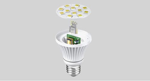 Application-Optimized Wireless Modules: A Bright Idea for Smart LED Bulb Designs