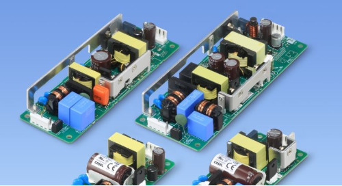 COSEL's Low-Profile Open-Frame Power Supplies Drive Demanding Applications