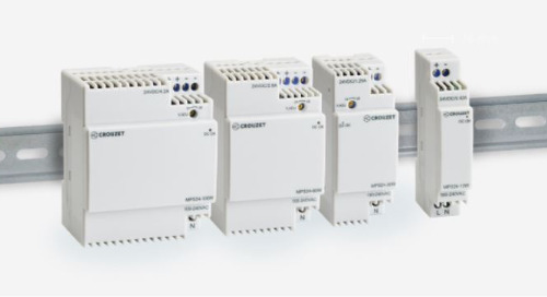 Crouzet's Latest Compact Power Supplies Tout Efficiency