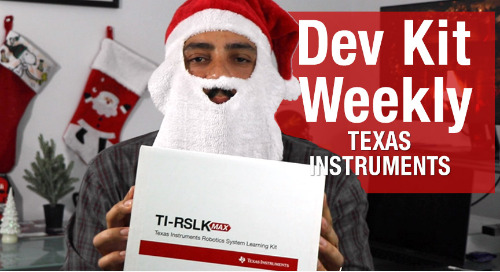 Dev Kit Weekly: Texas Instruments TI-RSLK MAX Robotics Learning Kit