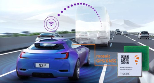 Septentrio's Mosaic GNSS Module Enables Accurate Localization in NXP's V2X Solution
