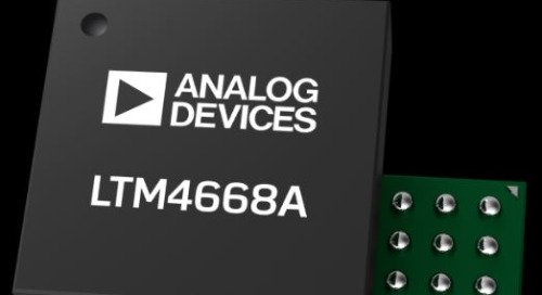 Analog Devices' Quad-Output DC/DC µModules Reduce Component Count, Board Space, and Power Usage