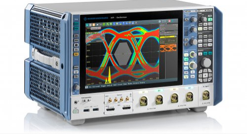 R&S' Oscilloscopes and Marvell's Multiport Multi-Gigabit Automotive Ethernet Switch Address Wideband Test