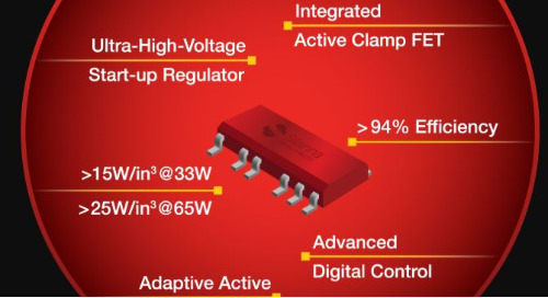 Silanna Semiconductor Fully Qualifies and Releases 33W and 65W Integrated Active-Clamp Flyback Controllers