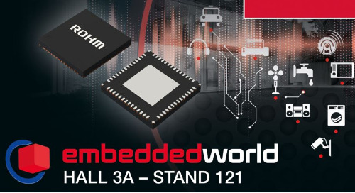 ROHM to Present Solutions for Industrial and Automotive at Embedded World 2020