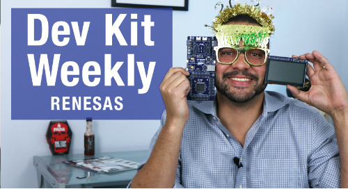Dev Kit Weekly: Renesas EK-RA6M3G Graphics Evaluation Kit