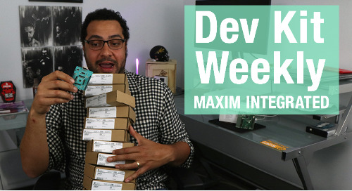 Dev Kit Weekly: Maxim Integrated MAX11131BOB Breakout Board