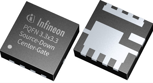 OptiMOS Source-Down 25V Power MOSFETs now in PQFN 3.3x3.3-mm Package