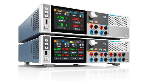 R&S NGP800 Power Supplies Offer up to Four Independent Channels in a Single Instrument