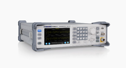 SIGLENT RF Signal Generators Support 5G, LTE, Bluetooth Application Testing