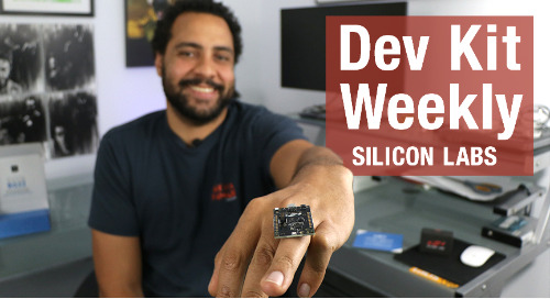 Dev Kit Weekly: Silicon Labs Thunderboard BG22
