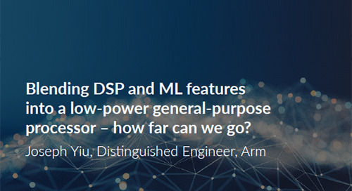 Blending DSP and ML features into a low-power general-purpose processor – how far can we go?