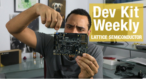 DEV KIT WEEKLY: Lattice Semiconductor CrossLink-NX Evaluation Board