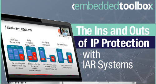 Embedded Toolbox: The Ins and Outs of IP Protection for Embedded Systems