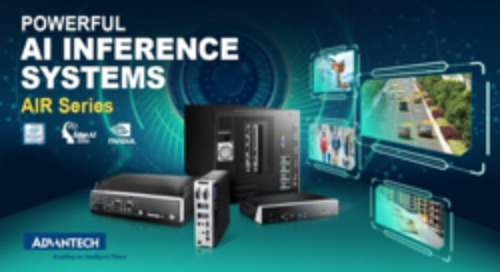 Advantech Launches AIR Edge AI Inference Systems for AI and Vision Analytics Applications
