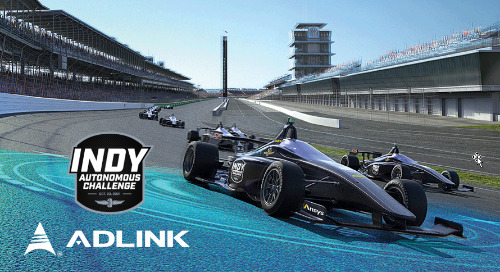 ADLINK's Edge AI Powers Autonomous Race Cars for Indy Autonomous Challenge