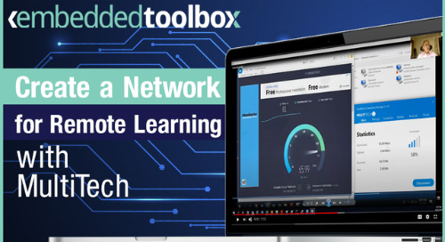 Create Your Own CBRS Network with MultiConnect Microcell for Remote Learning