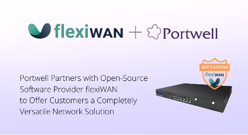 Portwell Partners with Open-Source Software Provider flexiWAN to Offer Customers a Versatile Network Solution