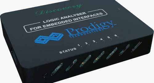 Prodigy Technovations Announces New Logic Analyzer for Embedded Interfaces