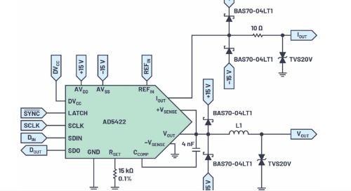 Controlling Output Modules with Full Isolation from the Microcontroller