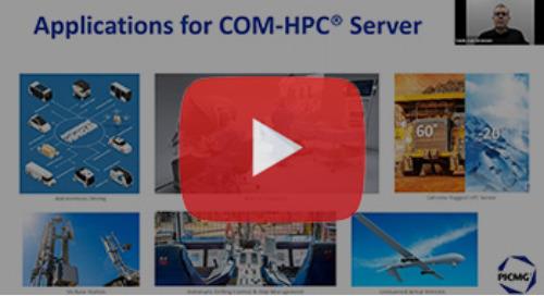 COM-HPC Server Modules